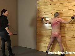 Merciless Whipping by Goddess Sophia