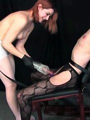 Cocks are for stomping on...and doing other nasty things to