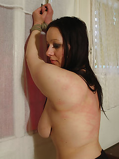 <!–-IMAGE_COUNT-–> of Dirty slut got hard full body punishment