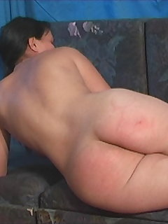 <!–-IMAGE_COUNT-–> of Pretty Brunette Red Ass Caning