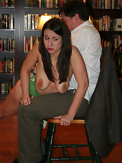 <!–-IMAGE_COUNT-–> of John spanks Sarah part-1