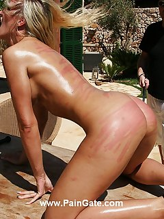 <!–-IMAGE_COUNT-–> of Extreme ass whipping torture
