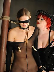 Mistress Irony is so cruel, how she loves hurting her beauti...