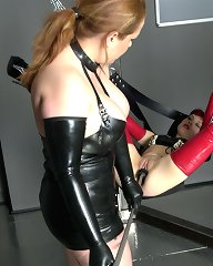 Dr. Anders is addicted to latex, and especially to really good-looking girls in tight rubber outfits