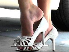Her pretty feet
