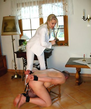 Malesub tied and punished