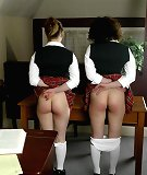 Paddling of bad schoolgirls