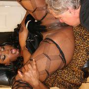 Ass worship with big mistress