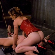 The femdom medicine is ramming and ass trashing by strapon