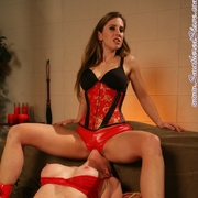 Smothered Slave Catherine DeSade and Natali Demore