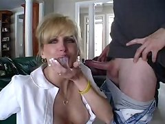 Today Racquel likes to play with the cum load