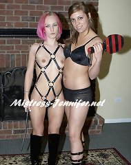 Mistress Monica and Mistress Mika