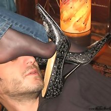 Extreme footdom, pony training and ass worship at home