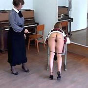 Bootom caning of hot girl