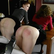 Teen sluts punished in school