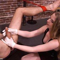 Femdom anal tortures