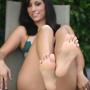 I was shooting Reena for Foot Fetish Daily and flirting with her when Jack(ass) Lawrence barges in, higher than a kite