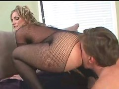 Foot and ass worship and facesitting from blonde mistress