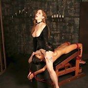 Vampire bondage torture
