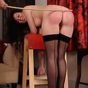 Daddy punished the stunning milf