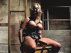 Ultimate bondage Milf Kylie Worthy Forced to Cum