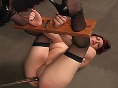 Wednesday needs it bad and she gets bound and violated for her pleasure