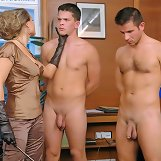 Dominant boss trampled men and punished them