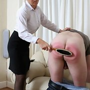 Bad boy was punished hard