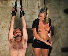 Slave fucked and humiliated hard