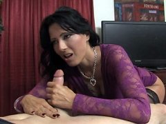 mother zoe holloway gives guy handjob at clubtug