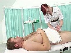 Geeky british nurse saline spark