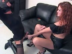 Mistress Sabrina\'s feet are for kissing...for kicking with...for worshipping