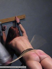 Corporal punishment coupled with abasement in a women's lock-up