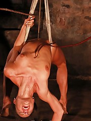 Harsh pussy whipped almost bondage