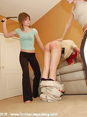 Bare scurvy spanking sets the instalment for college roomie Allaura