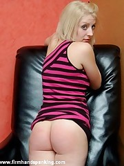 93 strokes of the strap, women's knickers down, for flight attendant Katherine St James