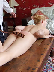 Samantha Woodley's discipline voyage takes her to a bare caning
