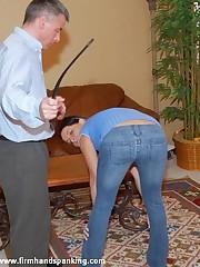 Panties down 126-smack spanking be fitting of elegant naval cadet Adrienne Glowering