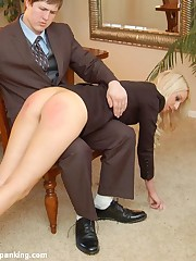 Cold bottom hand plus hairbrush spanking be fitting of hot flight related Adrienne Menacing