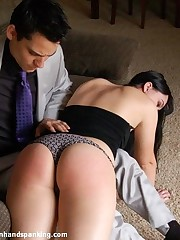 Rich Brat Sasha Harding makes her coming out with a 332-smack spanking