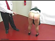BARED BENT AND CANED!