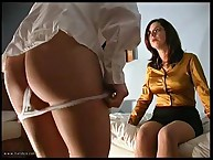 THE undressed submissive caning OF ELLIE MAYE