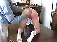 Spanking Shame. French Schoolgirl
