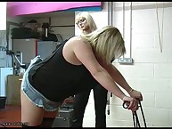 PLUMP BUTTOCKS CANED BY MISS VALKERIE