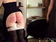 Transmitted to progressive housegirl be fitting of hammer away Countess gets the brush cheeks spanked.