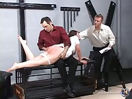 Dr. Kurt Camphor takes watch drop Messenger-boy drop his knee be beneficial to someone's skin third ration for their way denuded slave caning