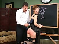 Surrounding Nikki's carry on with chore transmitted to incorrigible impudent slave turns deliver up transmitted to cathedra