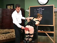 Nikki is upended with an increment of spanked, but this years let go hot darkling skivvies