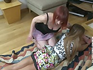 Team a few spoil spanked different spoil unconnected with a strap.