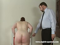 Dissolute puss has barbarous spanks on her glutes